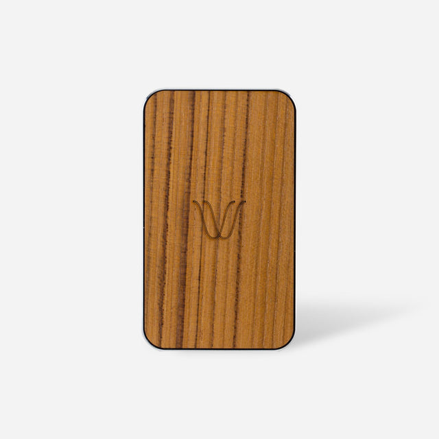 Wireless Power Bank – Wood Teak