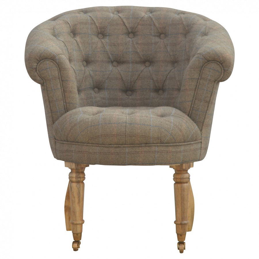 taransay tetrad the ranges tweed ladies smiths sofa harris at upholstery armchair chair rink