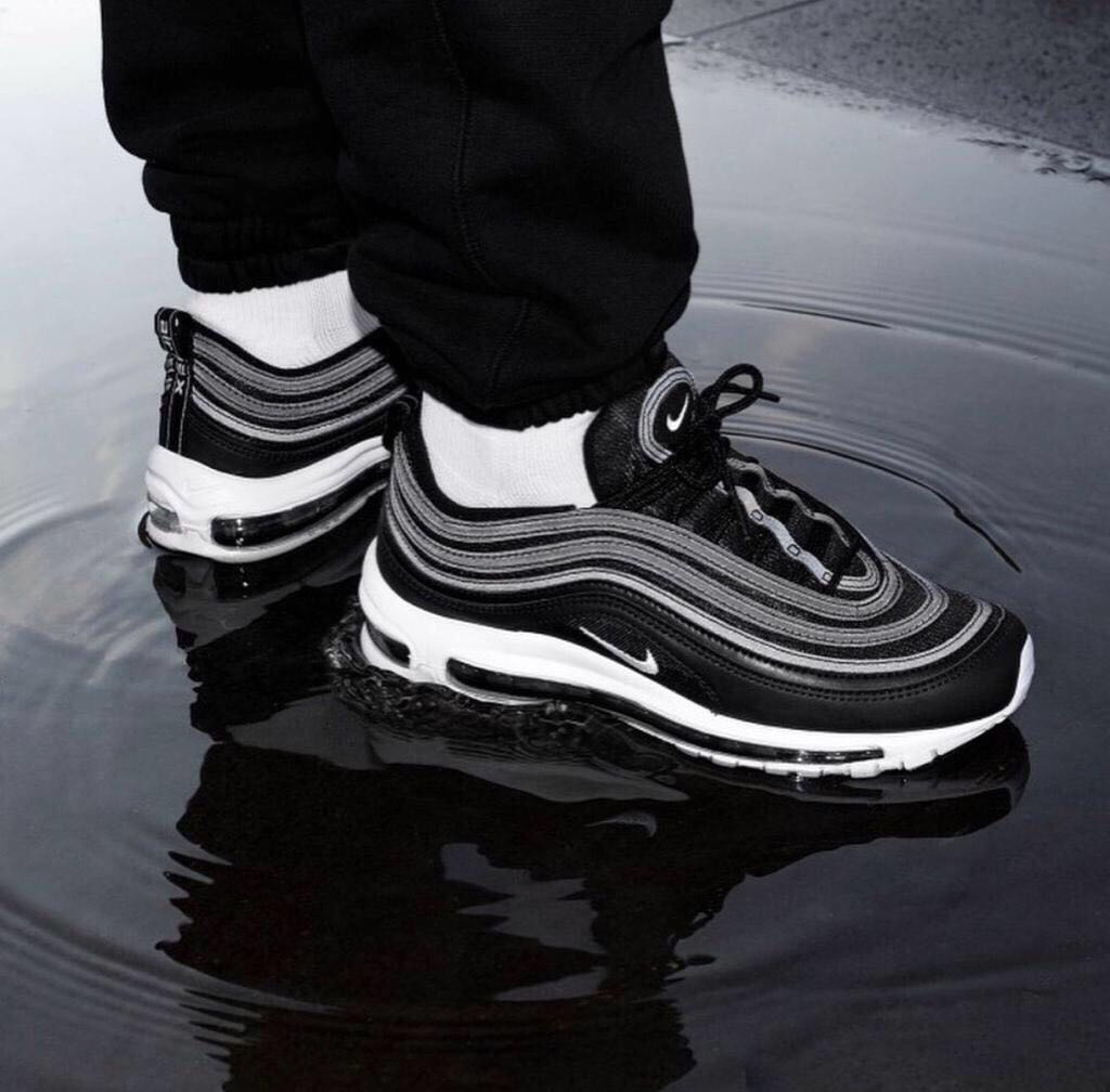 quality design 7e596 768c0 Nike Air Max 97 Ultra Men Shoes Black , White Line's