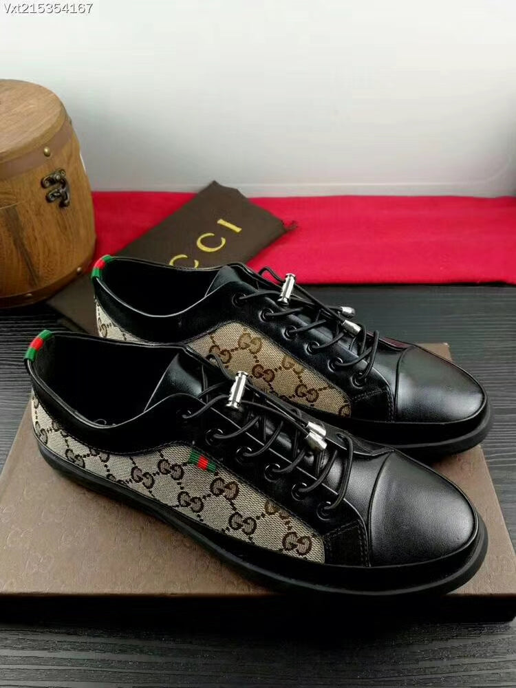6488f5458 Gucci Men Shoes Cafe   Black Color – visit moda