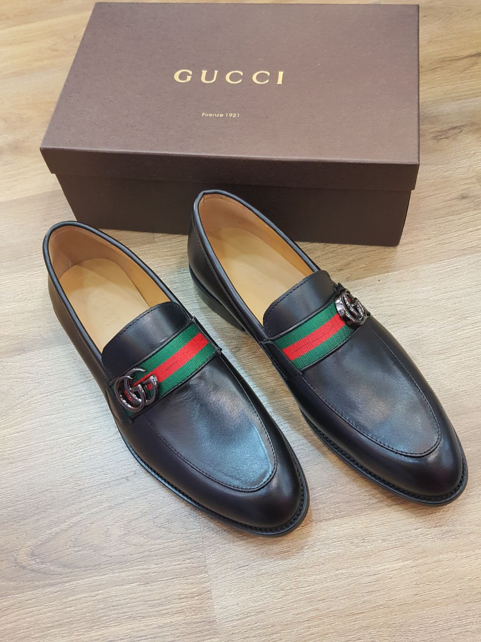 0d118f26a Gucci Men Shoes Full Black Color