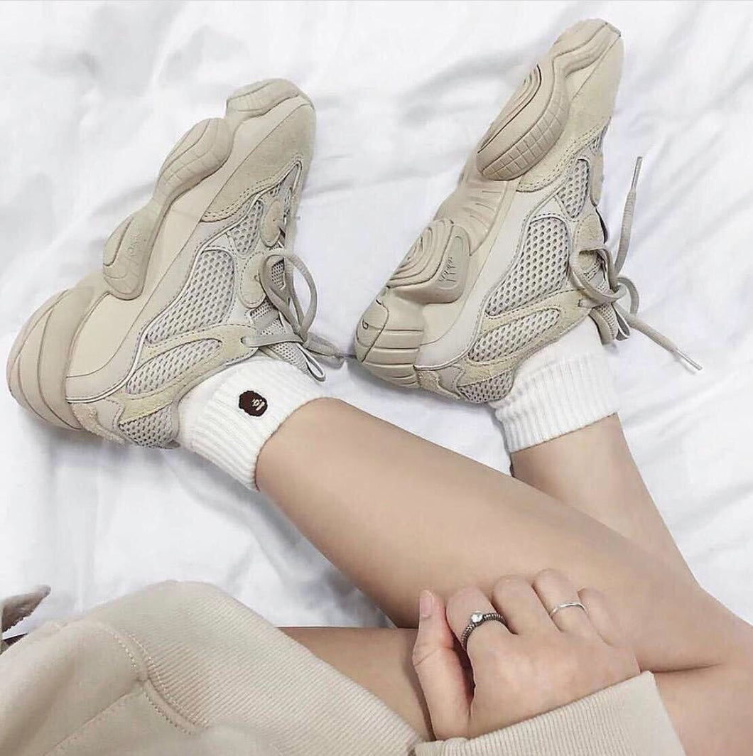 quality design c79d3 9f804 Adidas Yeezy Boost 500 Men Shoes Cafe Color