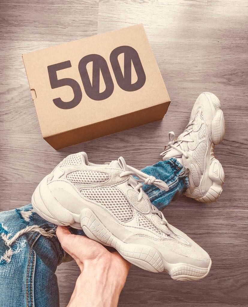 Adidas Yeezy Boost 500 Men Shoes Cafe Color Visit Moda