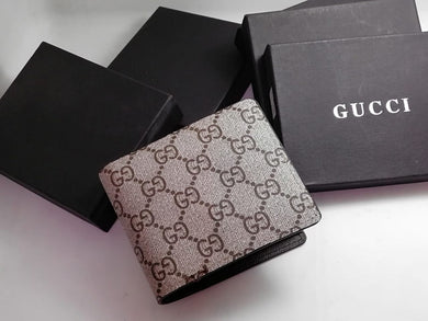dc840d2504b6 Gucci Men Wallet Brown & Cafe Color