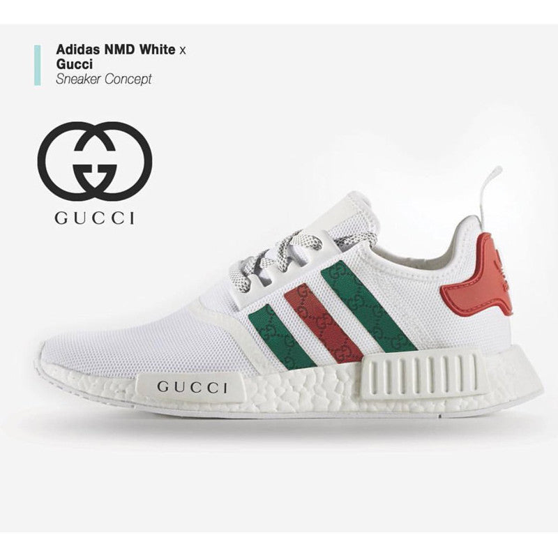 outlet store 8775f ca5c6 Adidas NMD white x Gucci