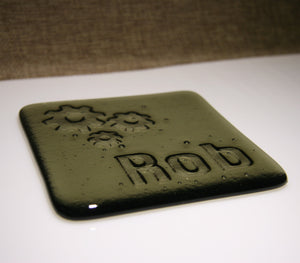 Cogs Personalised Coaster