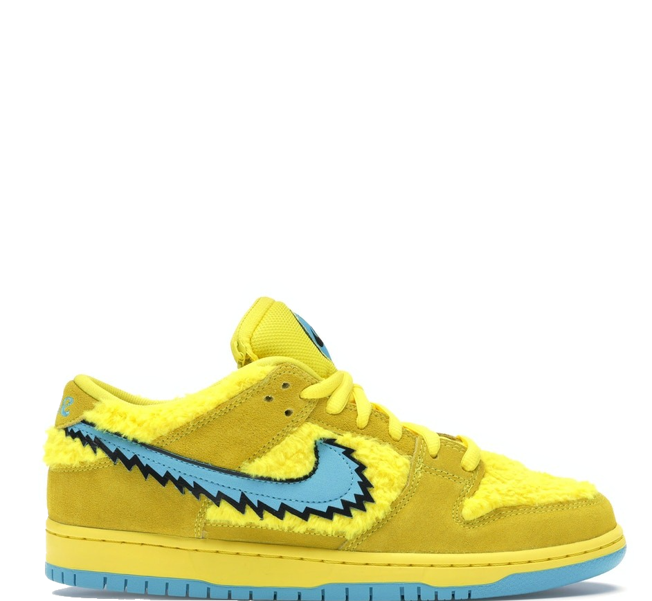Nike SB Dunk Low Grateful Dead Bears Yellow
