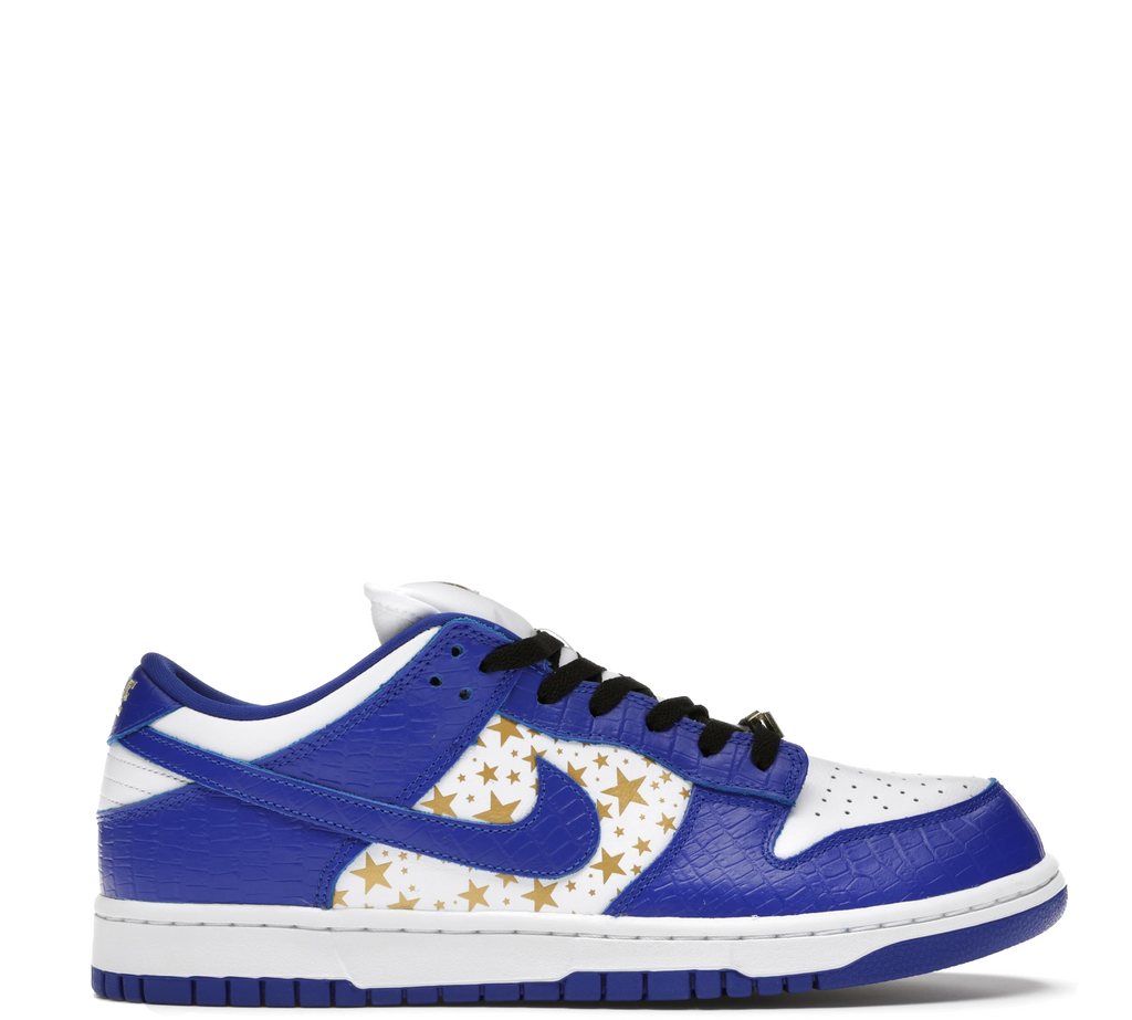 Nike SB Dunk Low Supreme Stars Hyper Royal 2021