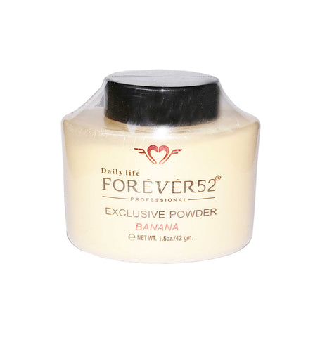 بودرة بانانا اكسكلوسف فوريفر 52 exclusive banana powder forever52 back