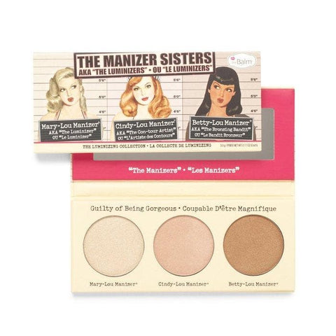 The Balm Manizer Sisters Highlighters Collection Pallette