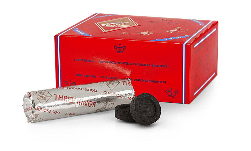 Three Kings Charcoal Briquettes