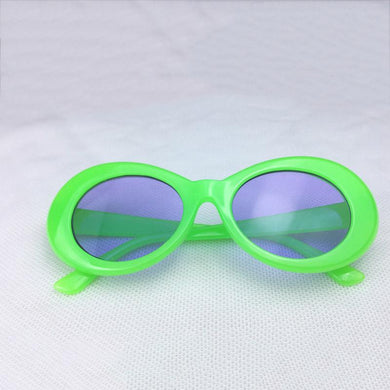Green w/ Blue Tint Clout Goggles