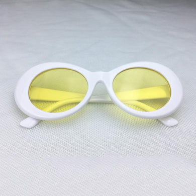 White w/ Yellow Tint Clout Goggles