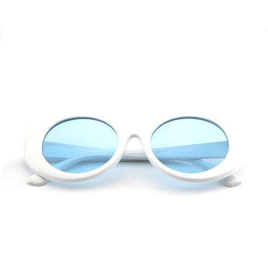 White Blue Tinted Clout Goggles