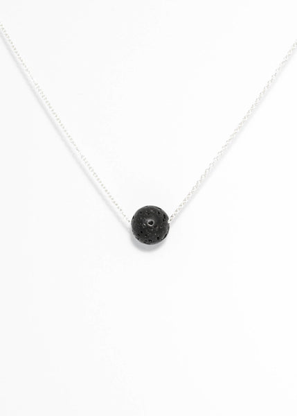 Infinity Necklace - black