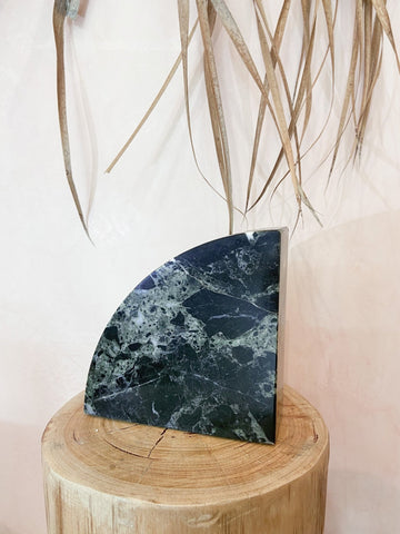 Black Onyx Book Ends - The Wong Way
