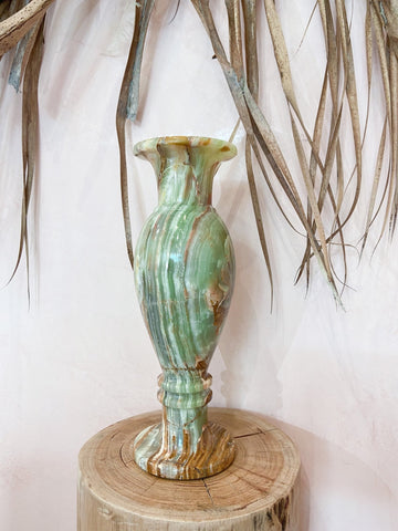 Green Onyx Vase - The Wong Way