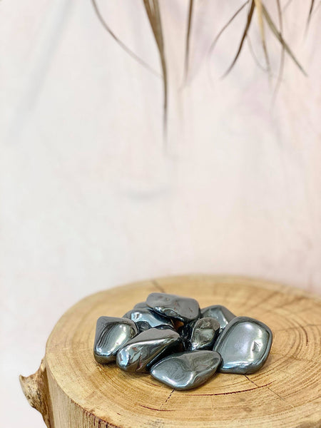 Hematite Tumbles - The Wong Way