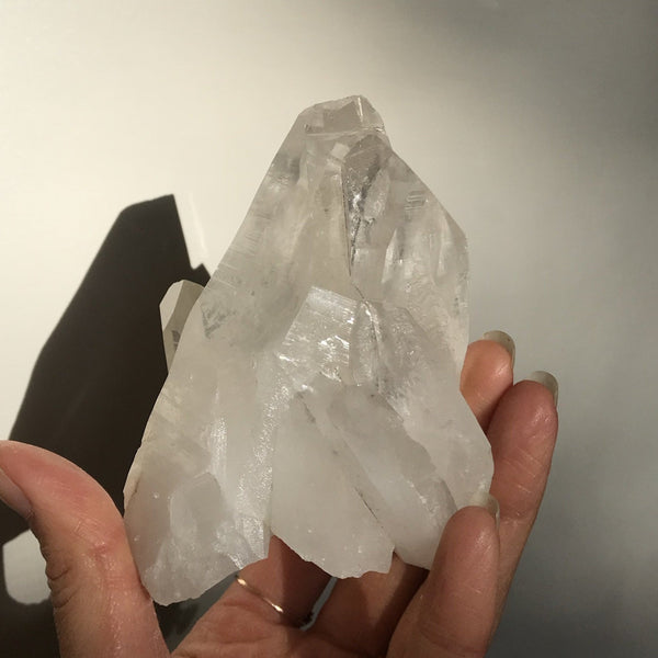 Lemurian Quartz Cluster - The Wong Way