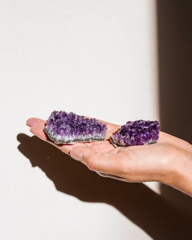 Purple Amethyst Cluster - The Wong Way