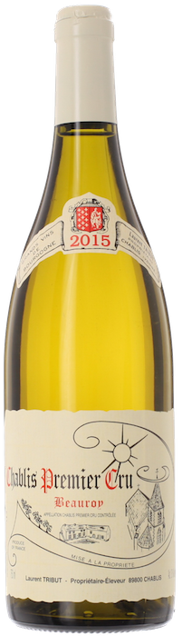 Chablis 1er Cru 'Beauroy'  Laurent Tribut 2015