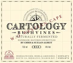 Cartology, Alheit Vineyards, Bush Vines, Hemelrand, South Africa 2016