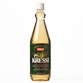 KRESSI ESSIG VINEGAR - Aux Herbes et Epices, Switzerland - Case of 3 bottles of 1L (free delivery)