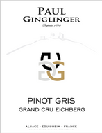 "Pinot Gris Grand Cru ""Eichberg"" Domaine Ginglinger 2015"