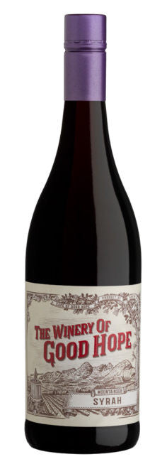 Mountain side Syrah, The Winery of Good Hope 2017