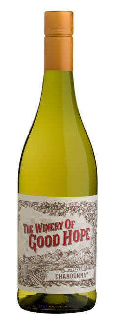 Unoaked Chardonnay The Winery of Good Hope 2016
