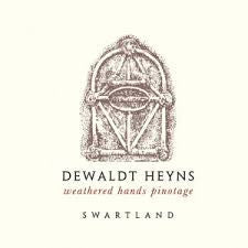 Pinotage 'Weathered Hands' Dewaldt Heyns, Swartland  2015 (OUT OF STOCK)