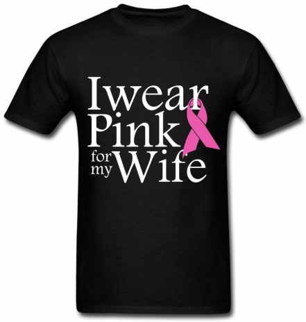 Pink for My Wife T-Shirt