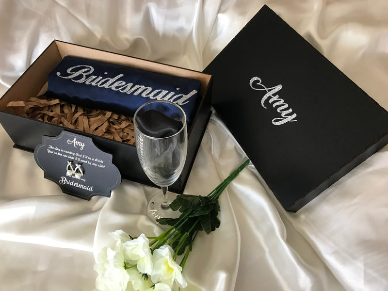 Now available! Bridesmaid Gift Boxes - Unique, Personalised and Handmade
