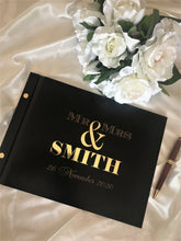 Load image into Gallery viewer, Wedding guest book - 3D Mr & Mrs | Bridal Delights