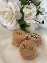 Load image into Gallery viewer, Ring Bearer Box - Mr and Mrs Set | Bridal Delights