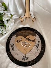 Load image into Gallery viewer, Unity Puzzle - Hearts with 5 names | Bridal Delights