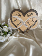 Load image into Gallery viewer, Wedding Ceremony Puzzle - Infinity Heart | Bridal Delights