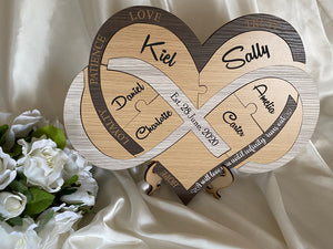 Wedding Ceremony Puzzle - Infinity Heart | Bridal Delights