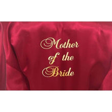 Load image into Gallery viewer, Bridesmaid Robes Set of 3 - White and Burgundy Bridal Party Robes