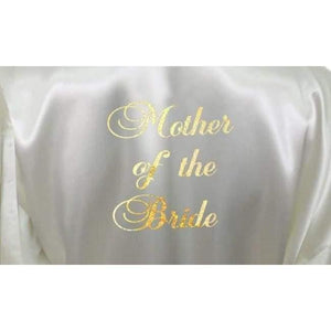 Ivory Bridesmaid Robe - Mother of the Bride from  -  Bridal Delights