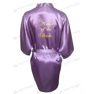 Lilac Bridesmaid Robe - Mother of the Bride from