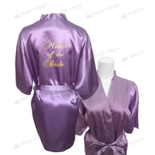 Load image into Gallery viewer, Lilac Bridesmaid Robe - Mother of the Bride from  -  Bridal Delights