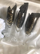 Load image into Gallery viewer, Personalised Campagne Flutes - Long Stem  -  Bridal Delights