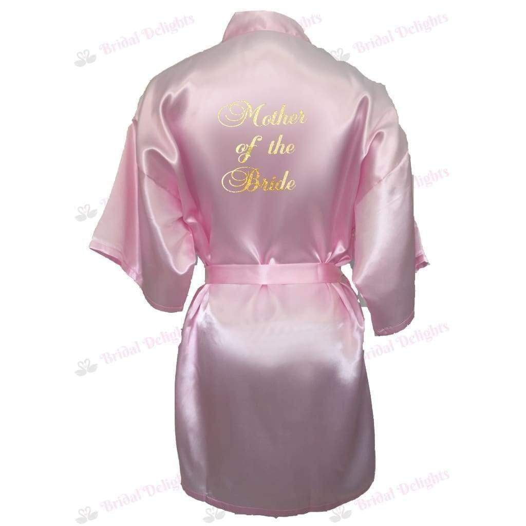 Pink Bridesmaid Robe - Mother of the Bride from