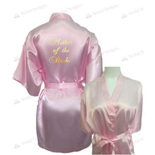 Load image into Gallery viewer, Pink Bridesmaid Robe - Mother of the Bride from