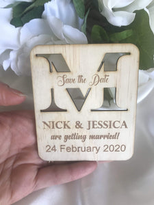 Save the date magnet - Getting Married  -  Bridal Delights