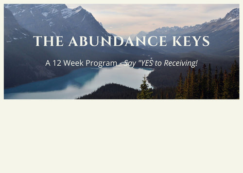 The Abundance Keys - Gold Package