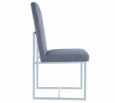 Modern Grey Dining Chair Model # 18107143