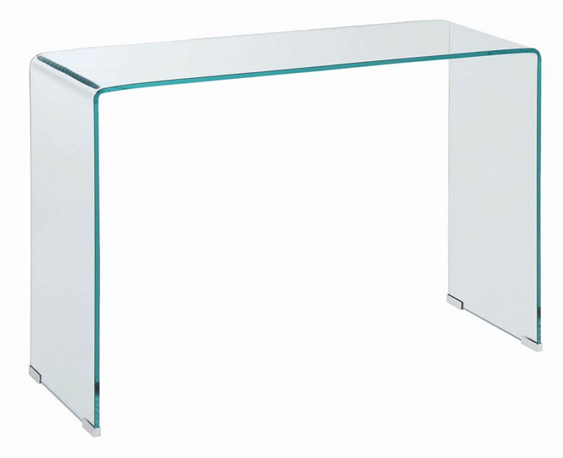 Contemporary Clear Sofa Table Model # 18705329