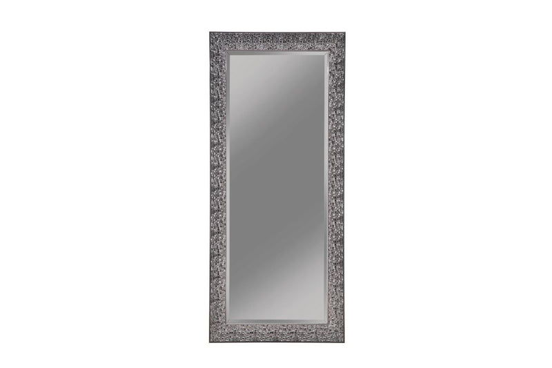 Rectangular Floor Mirror Black 18901999